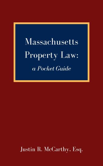 Massachusetts Property Law_ a Pocket Guide